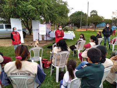 Jornada de capacitación comunitaria sobre prevención de violencia en Limpio