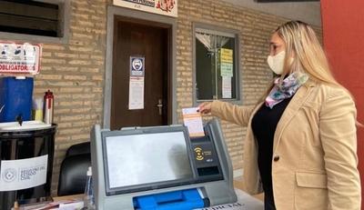 Locales de votación contarán con máquina de capacitación con candidaturas ficticias