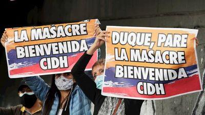 Colombia dice a Bachelet que garantiza derecho a la protesta