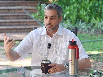 Mario Abdo felicita a Benet y confía en reforzar amistad con Israel