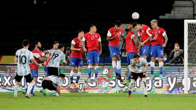 Argentina y Chile no consiguen sacarse ventaja