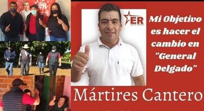 EL PROF. MÁRTIRES CANTERO CON AMPLIO APOYO POPULAR EN GENERAL DELGADO.