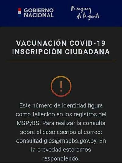 Se triplicó cifra de inscriptos para vacunación anticovid