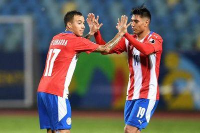 Goles de Paraguay ante Bolivia