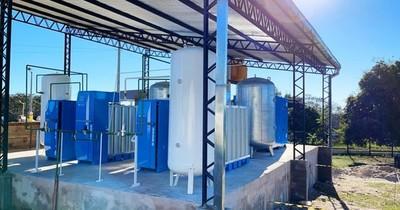 La Nación / IPS pone en marcha su planta de oxígeno en San Estanislao