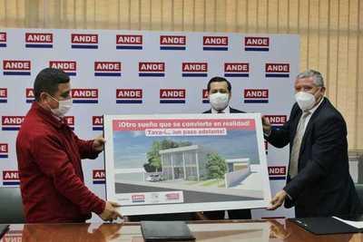 La ANDE construirá nueva Agencia Regional en Tava´i, Caazapá