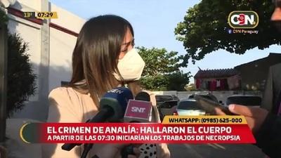Hoy realizarán necropsia a los restos de Analía Rodas