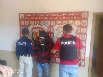 Cae hombre con pedido de extradición de la justicia brasileña por tráfico de drogas