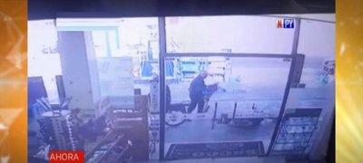 Delincuentes motorizados se alzan con millonario botín tras atraco a gasolinera