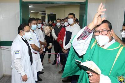 Habilitan un sector de Urgencias del Hospital de Luque para atender a pacientes con Covid-19 •
