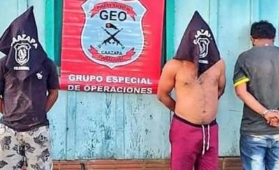 Secuestradores de producto agrícola son acusados por la fiscalía