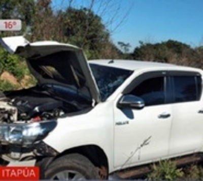 Hermanos mueren tras ser embestidos por camioneta