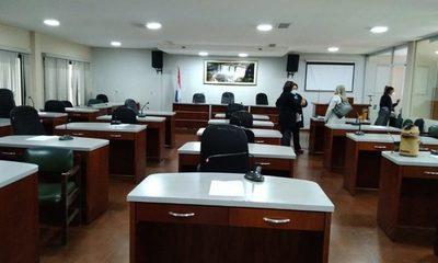 Holgazanes: concejales departamentales no sesionan