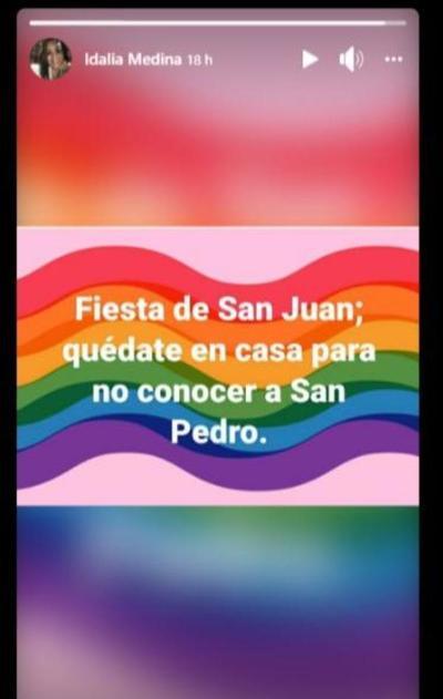 Médica pide evitar fiestas de San Juan para no conocer a San Pedro