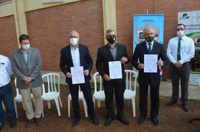 Guairá: Entregan importantes donaciones al Hospital de Villarrica