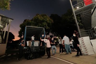 Elecciones internas: TSJE comenzó distribución de máquinas de votación a todos los departamentos
