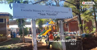 CENTRO EDUCATIVO LUCE MEJORAS Y ANUNCIAN HABILITACIÓN DE SALITA DE 3 AÑOS