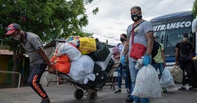 La Nación / Hacienda realizó ayer el tercer y cuarto pago del subsidio a trabajadores formales de frontera