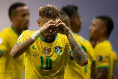 El segundo goleador en la historia de Brasil