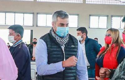 """Mario Abdo confesó que """"no dormía preocupado por buscar vacunas"""""""
