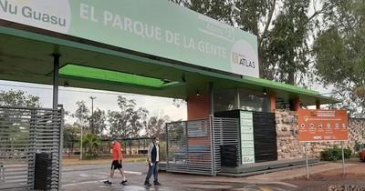 La Nación / La UNA y el MOPC impulsan proyecto de arborización del Parque Ñu Guasu
