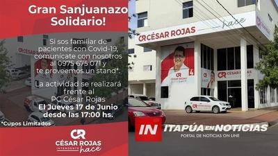 GRAN CIERRE CON CAMPAÑA SOLIDARIA DE CÉSAR ROJAS.