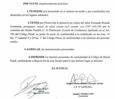 "Clan Zacarías Irún sigue de reunión con socio comercial al que ""denunció"""