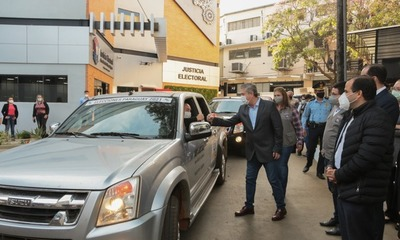 Útiles electorales partieron al interior del país para los comicios partidarios