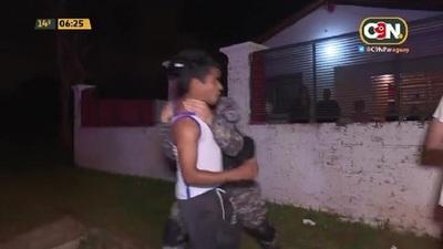 Resistencia y detenciones en Areguá