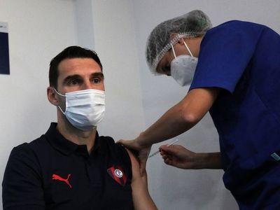 Cerro Porteño recibió la segunda dosis de la vacuna Sinovac