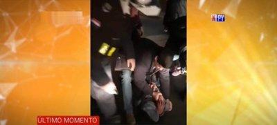 Reducen a golpes a un supuesto ladrón en pleno centro de San Lorenzo