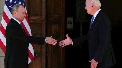 Inicia histórica cumbre entre Joe Biden y Vladímir Putin