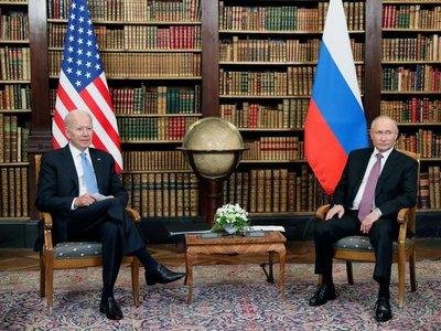 En medio de tensiones, Joe Biden y Vladimir Putin se reúnen en Ginebra