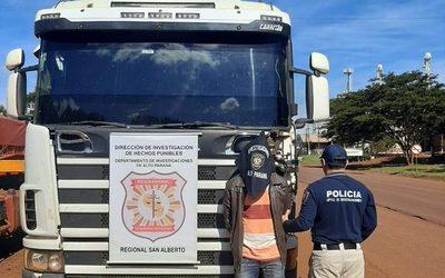 Detienen a chofer que intentó robar granos de soja de un silo – Diario TNPRESS