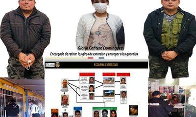 Desbaratan red de extorsionadores que operaba desde la cárcel de CDE y en complicidad con guardiacárceles – Diario TNPRESS
