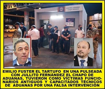 OPERATIVO TARTUFO LE SALIÓ POR LA CULATA A FUSTER, QUIEN NO LOGRÓ EL OBJETIVO