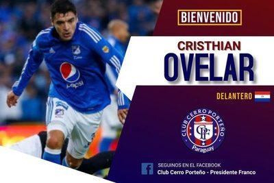 Christian Ovelar refuerza Cerro de Franco para el Nacional B