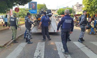 Ciudad del Este: Contrabando se sube al mototaxi