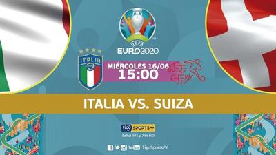 Italia busca el pase a octavos