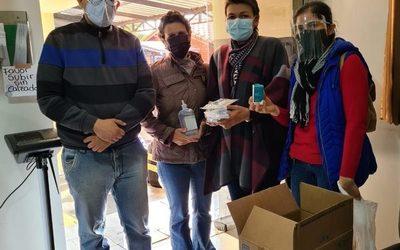 Pacientes donan insumos a Pabellón Oncológico