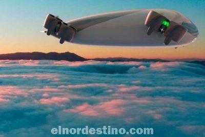 El avión eléctrico eVTOL sin alas con capacidad para 40 pasajeros más un piloto viaja a 300 km/h gracias a su empuje vectorial