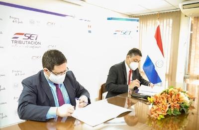 Zonas Francas e INE firmaron acuerdo para intercambio de información