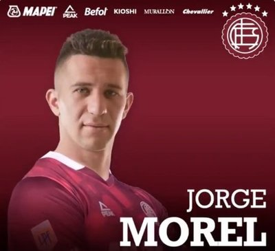 Jorge Morel recala en Lanús