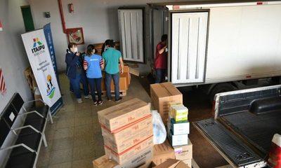 Itaipu entrega 22.000 ampollas de atracurio para pacientes con COVID-19 en el Integrado