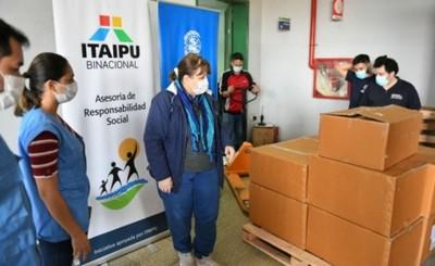Itaipu entregó 22.000 ampollas de atracturio al Hospital Integrado