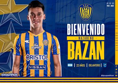 Nazareno Bazán refuerza a Sportivo Luqueño