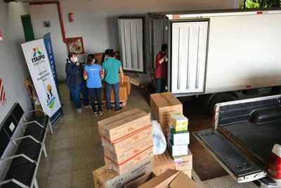 Itaipu entrega 22.000 ampollas de atracurio al HIRAP