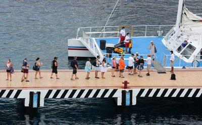 Los cruceros regresan al Caribe mexicano con el afán de reactivar el turismo