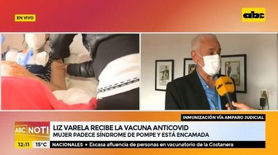 Paciente con síndrome de Pompe recibió la vacuna antiCOVID