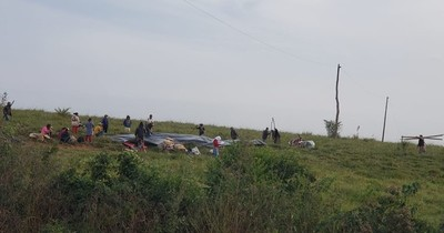 La Nación / ARP denuncia inacción policial ante reingreso ilegal a propiedad en Caazapá